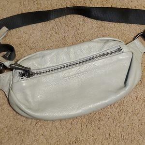 Aimee Kestenberg Gray Leather Milan Bum Bag